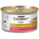 Консервований корм - Gold Шматочки в підливі з фореллю та овочами