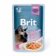 Для котів - Філе лосося в соусі для кастрованих котів