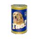 Консервований корм - «Для дорослих собак з куркою в апетитному соусі»