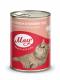 Консервований корм - Вологий корм для котів з кроликом в ніжному соусі