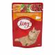 Консервированный корм - Влажный корм для кошек с печенью в нежном соусе