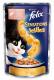 Консервований корм - Sensations Jellies  з лососем, шматочки в желе з тріскою