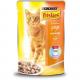 Консервований корм - Шматочки у підливці з куркою для котів