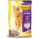 Консервований корм - Шматочки у підливці з ягням для котів