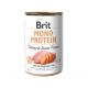 Консервированный корм - Mono Protein Dog с индейкой и сладким картофелем