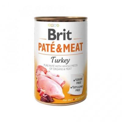 Консервований корм - Pate & Meat Dog з індичкою