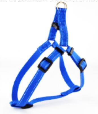 Для собак - Шлея з нейлону зі світловідбиваючої ниткою та пластиковою пряжкою