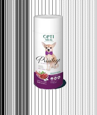 Сухий корм - Privilege Grain Free Adult Dogs Small Breeds Беззерновий сухий корм для дорослих собак мініатюрних та малих порід з високим вмістом ягнятини