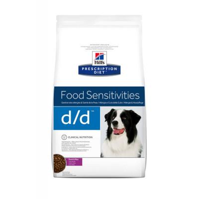 Лікувальний корм - PD Canine D/D Duck & Rice
