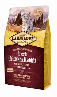 Для котов - Cat Fresh Chicken & Rabbit сухой корм с курицей и кроликом кошек