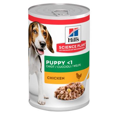 Консервований корм - SCIENCE PLAN Puppy Вологий Корм для цуценят з куркою