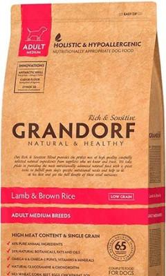 Сухой корм - Lamb & Brown Rice Adult Medium