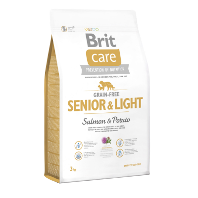 Сухий корм - Grain Free Senior and Light Salmon and Potato