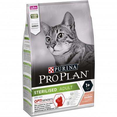 Сухой корм - Sterilised  для стерилизованных котов - лосось