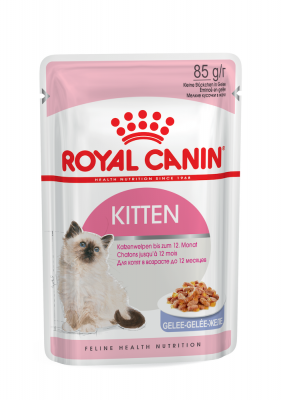 Консервированный корм - Kitten wet in jelly