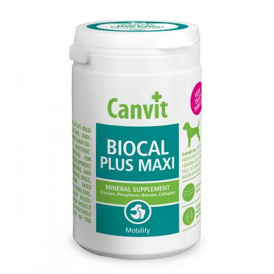 Вітаміни та добавки - Biocal Plus MAXI  — мінерали і колаген для покращення рухливості для великих порід