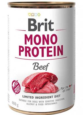 Консервований корм - Mono Protein Dog з яловичиною