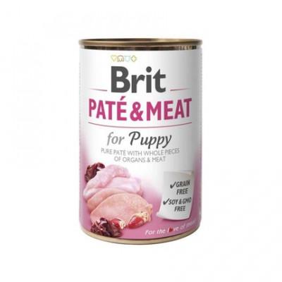 Консервований корм - Pate & Meat Puppy з куркою та індичкою для цуценят