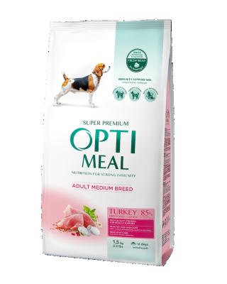 Сухий корм - Adult Dogs Medium Turkey Сухий корм для дорослих собак середніх порід – індичка.