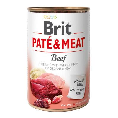 Консервований корм - Pate & Meat Dog з яловичиною