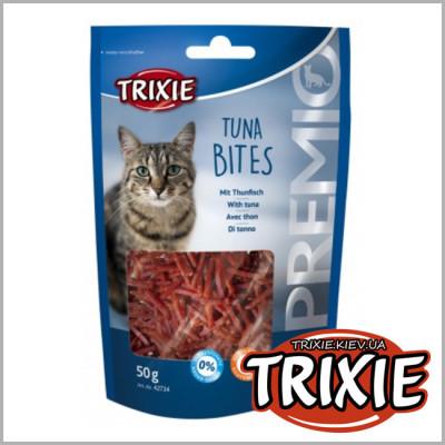 "Ласощі - Лакомство д/кота""Tuna Bites""(тунец+курица)"