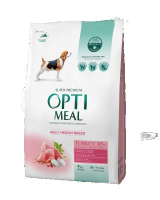 Сухой корм - Adult Dogs Medium Turkey Сухой корм для взрослых собак средних пород – индейка
