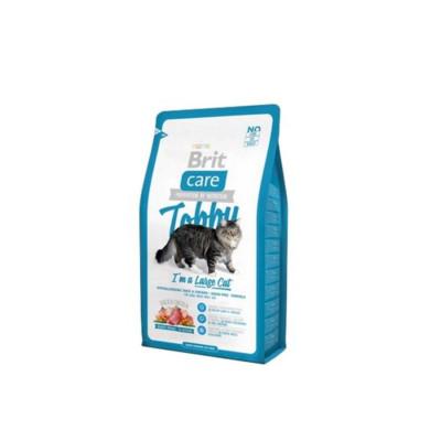 Сухой корм - Беззерновий корм для кошек крупных пород - утка и курица
