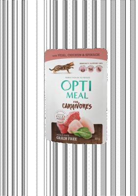 Консервований корм - Adult Cats Grain Free Veal, Chicken & Spinach Беззерновий вологий корм для дорослих котів з телятиною, курячим філе та  шпинатом у соусі