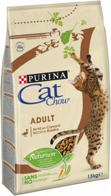 Для котів - Adult сухий корм з качкою