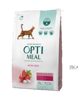 Сухий корм - Adult Cat High in Veal Сухий корм для дорослих котів з високим вмістом телятини