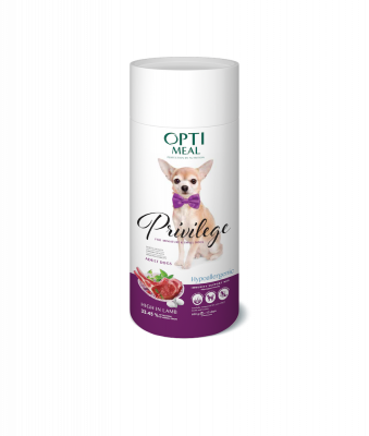 Сухой корм - Privilege Hypoallergenic Adult Dogs Small Breeds Гипоаллергенный  сухой корм для взрослых собак миниатюрных и малых пород с высоким содержанием ягнятины