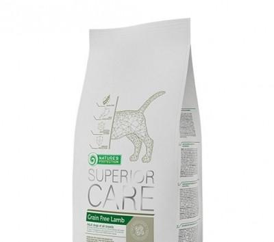 Сухий корм - Беззерновой сухий корм з м'ясом ягняти для дорослих собак всіх порід з чутливим травленням