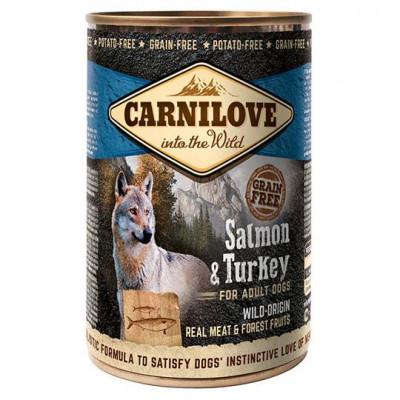 Консервированный корм - Grain Free Dog Adult с лососем и индейкой
