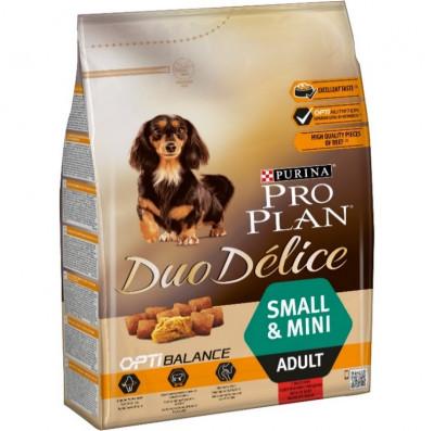 Сухий корм - Duo Delice Adult Small & Mini Beef Cухий корм з яловичиною для дорослих собак малих і карликових порід