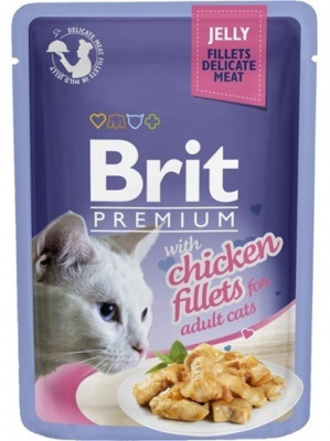Для котів - Куряче філе в желе для котів
