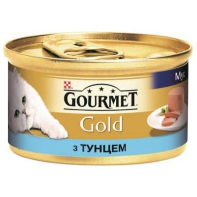 Консервированный корм - С тунцом. Мусс. Консервированный порционный полнорационные корма для взрослых кошек