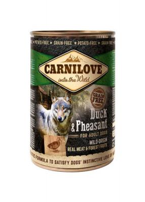 Консервированный корм - Grain Free Dog Adult с уткой и фазаном