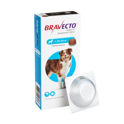 Від бліх та кліщів - Bravecto 20-40 кг
