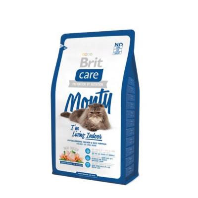 Сухий корм - Гіпоалергенний корм для дорослих котів, які живуть в приміщенні — курка