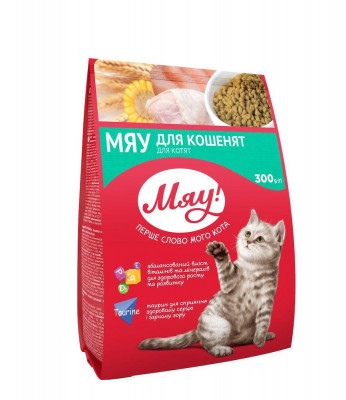 Сухий корм - Сухий корм для кошенят
