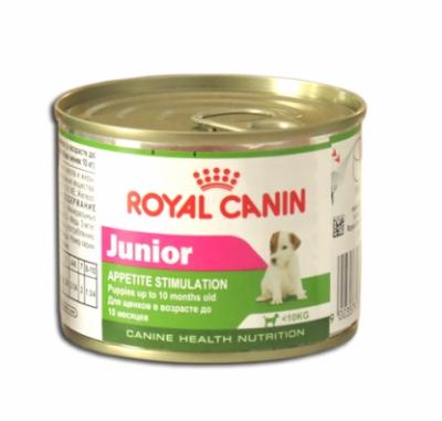 Консервированный корм - Junior