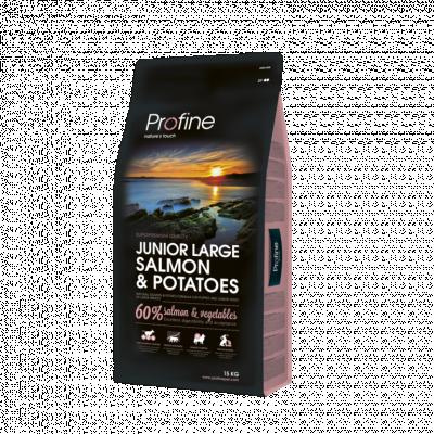 Сухой корм - Junior Large Breed Salmon & Potatoes Сухой корм с лососем и картофелем для щенков больших пород