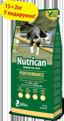 Сухой корм - Performance для взрослых активных собак всех пород