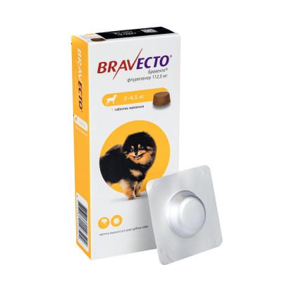 Від бліх та кліщів - Bravecto 2,0-4,5 кг