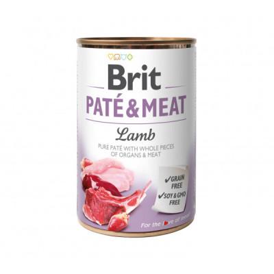 Консервированный корм - Pate & Meat Dog с ягненком