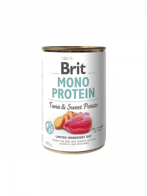 Консервированный корм - Mono Protein Dog с тунцом и сладким картофелем