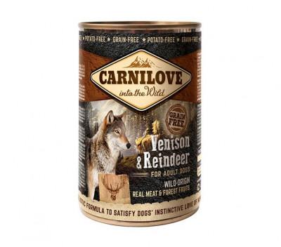 Консервований корм - Grain Free Dog Adult з північним оленем