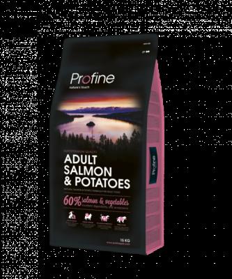 Сухий корм - Dog Adult Salmon & Potatoes Сухий корм з лососем і картоплею для дорослих собак всіх порід