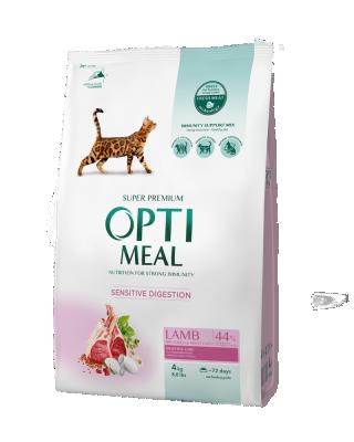 Сухий корм - Adult Cat Lamb Sensitive Сухий корм для дорослих котів з чутливим травленням – ягня