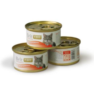 Для котів - Cat вологий корм на основі курячого філе та рису